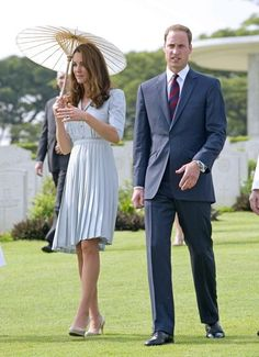 13th September, 2012: Britain's Prince William and Catherine, The Duchess of Cambridge on their third day in Singapore on their tour of South-East Asia.