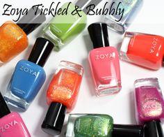 Top 10 Tuesday – Top Summer 2014 Nail Polish Collections via ALU #nailpolish #beauty #ZoyaTickledBubbly