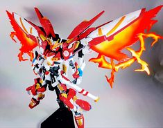 GUNDAM GUY: HGBF 1/144 Kamiki Burning Gundam - Customized Build