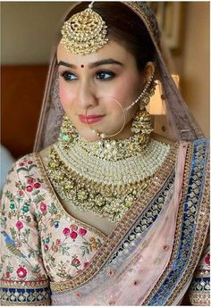 Indian Bridal Outfits, Indian Bridal Fashion, Indian Bridal Wear, Indian Wedding Jewelry, Bridal Dresses, Indian Weddings, Romantic Weddings, Indian Dresses, Indian Wear
