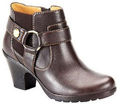 Softspots Carmina Harness Ankle Boots