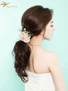 Beautiful Gyuniyoung in Korea Hair & Makeup Sample