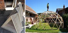 Šikovný Andrej vyrába krásne drevené kupoly – vzdušné stavby, ktoré majú desiatky využití Ferris Wheel, Fair Grounds, Travel, Viajes, Destinations, Traveling, Trips