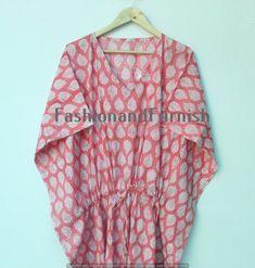 Kimono Fabric, Cotton Fabric, Cotton Kaftan, Bridal Party Robes, Cotton Sleepwear, Beach Wear, Resort Wear, Festival Outfits, Indian Fashion