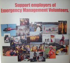 Support Emergency Management Volunteers and their employers