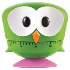 Cute Owl Timer - Wind him up and he'll time your recipes for you.  He winds up to 60 minutes and he's got rubber feet so he won't scratch the counter-top.