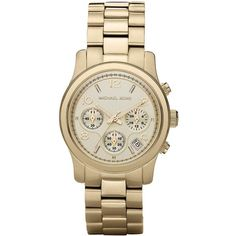 Michael Kors Runway Watch found on Polyvore