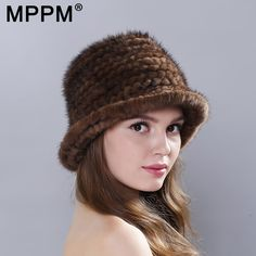 696ae2a0c09 Fur Beanies real fur hat women mink hair cap 2017 winter warm caps leather  straw hat for Russian natural Fur female Knitted hat