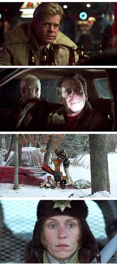 Fargo (I have met so many people who say I talk just like the woman cop in this movie...don't think it's a compliment!)