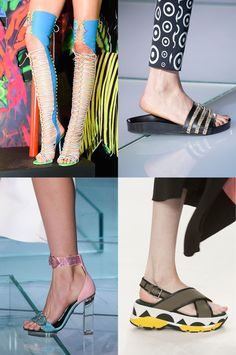 Diversify your shoe portfolio with Spring Summer 2015's best shoe investments. From chic flats to head turning gladiators, lace-