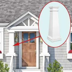 Photoshop Redo: Perking Up a Plain Cape Cod - This Old House Cape Cod Exterior, Cape Cod House, House With Porch, House Front, Remodel, Porch Remodel, Cape Cod House Exterior, Renovations, Building A Porch