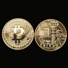 Gold Plated Bitcoin Coin Collectible BTC Coin Art Collection Gift Physical Metal Antique Imitation Home Party Deco Price: USD Bitcoin Mining Hardware, Bitcoin Mining Rigs, What Is Bitcoin Mining, Bitcoin Miner, Investing In Cryptocurrency, Cryptocurrency Trading, Bitcoin Cryptocurrency, Cheerleading, Party Deco