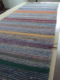 Rag Rugs, Tear, Rug Making, Scandinavian Style, Needlework, Pattern Design, Recycling, Weaving, Textiles