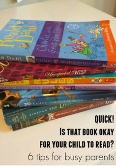 6 quick ways to get a sense of what your kids are reading without actually reading the book.