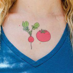 Every beet of my heart...  Tattly temporary tattoos.