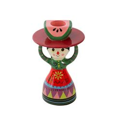 NEW * Candle Holder Mexicana - Ingela P Arrhenius for Kitsch Kitchen * at The Pippa & Ike Show