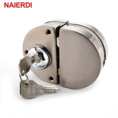 26.88$  Watch here - http://ali8gn.shopchina.info/go.php?t=32796263177 - NAIERDI Double Glass Door Lock 304 Stainless Steel Double Open Frameless Door Hasps For 10-12mm Thickness Furniture Hardware  #SHOPPING