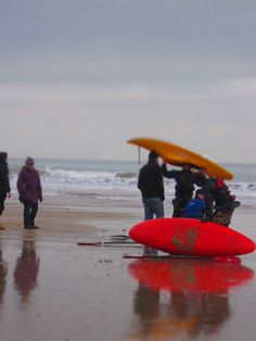 Bournemouth beach in the winter