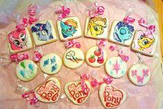My Little Pony inspired cookies