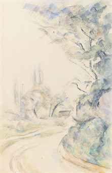 cezanne watercolor