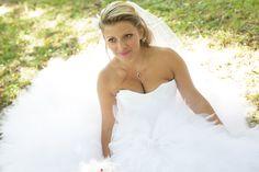 Ludivine Guillot - Robe de mariée sur mesure - Lyon - Tulle bustier voile