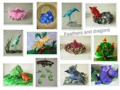 All of the rainbow birds together.... http://feathers-and-dragons.simpsite.nl/rainbow-birds