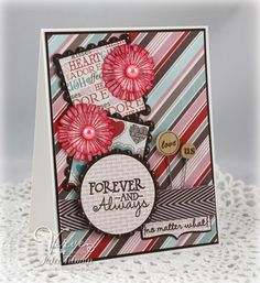 Card by Julee Tilman using No Matter What from Verve.  #vervestamps