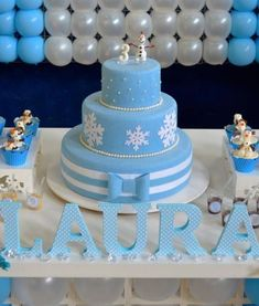 bolo fake biscuit Frozen Theme Party, Frozen Birthday Party, Birthday Diy, Birthday Party Themes, Birthday Cake, Torte Frozen, Pastel Frozen, Bolo Fack, Fake Cake