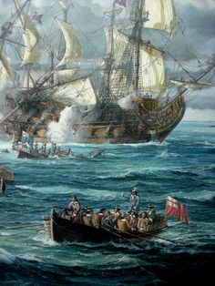 Old Sailing Ships, Sailing Boat, Ship Paintings, Cool Paintings, Anglo Dutch Wars, Ship Of The Line, Uk History, Tall Ships, Ship Art