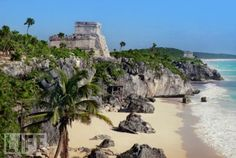 Riviera Maya, Mexico  Beautiful weather and even better beaches are just two of the big draws that attract A-listers to this south of the border hotspot. The area also features many Mayan ruins.