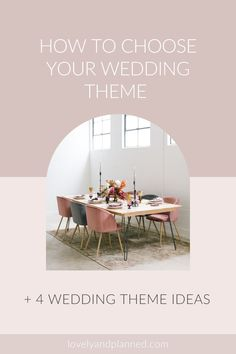 Whether you are planning a grand wedding, an intimate destination wedding, or even an elopement, choosing a wedding theme is essential! To jump-start your search, I explain 4 theme ideas in great detail: Classic Wedding, Bohemian Chic, Romantic Old-World Charm, and Urban Industrial. Choosing A Wedding Theme, Plan Your Wedding, Wedding Blog, Wedding Styles, Wedding Day Checklist, Destination Wedding Planner, Wedding Planning Tips, Dubai Wedding, Elope Wedding