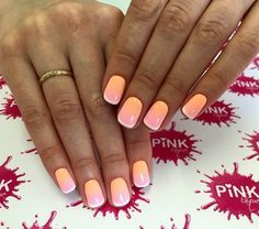 Beautiful nail colors, Exquisite nails, Festive nails, Fresh nails, Gradient nail art, Ideas of gradient nails, Multi-colored french manicure, Party nails