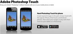 AppsUser: Adobe lanza Photoshop Touch para iPhone y Android