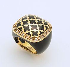 Angelique de Paris CALLAS Vermeil Sterling Silver Ring