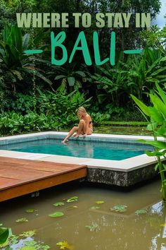 Where to Stay in Bali: Bali is home to the most beautiful villas and resorts—so you definitely have options!