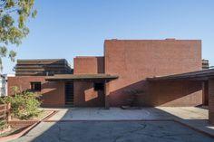 Sturges House. 1939. Brentwood, California. Usonian Style. Frank Lloyd Wright.