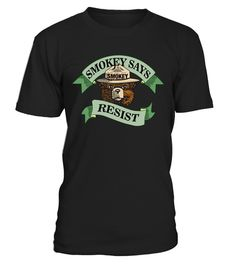 Smokey bear says resist Round neck T-Shirt Unisex camping tshirts, camping t shirt ideas, camping shirt ideas, camping t shirt amazon, camping t shirts designs, camping t shirts wholesale, camping t shirts funny, camping t shirt slogans, camping t shirts canada, funny camping t shirts, camping t shirt sayings, camping t shirt design, camping t shirt etsy, camping t shirt apparel, camping t shirt uk, camping t shirt for toddlers, camping attitude t shirt, t shirt camping with a chance of…