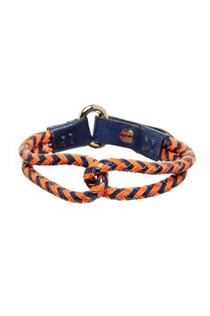 Tommy Bahama | Double Row Braided Leather Bracelet | Nordstrom Rack