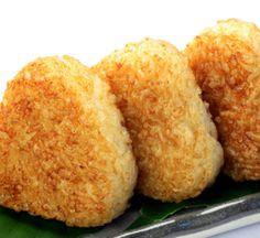 Boulettes de riz grillées yaki onigiri