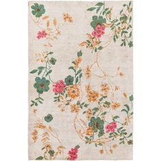 Buy the Surya Beige Direct. Shop for the Surya Beige Linnea x Rectangle Silk Hand Knotted Paisley Area Rug and save. Decor, Decorative Accessories, Floral Rug, Chinoiserie, Gorgeous Rug, Trending Decor, Silk Rug, Area Rugs, Hand Knotted Rugs