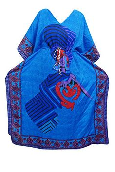 Mogul Interior Womens Kaftan Housedress Blue Ethnic Print... https://www.amazon.co.uk/dp/B06WRNX3GB/ref=cm_sw_r_pi_dp_x_ZU9SybNSZMQMC
