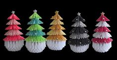 Origami Maniacs: 3D Origami Christmas Tree