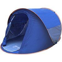 Today's Deals Generic Daily Windproof 2 Person Tent Blue sale
