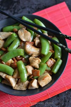 Spring Stir Fried Chicken with Sugar Snap Peas and Carrots | Healthy ...