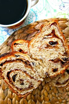 at my wedding i want to have a table of goodies that my relatives who passed loved! raisin bread for my mawmaw