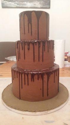 Drip cake ...WIP Drip Cakes, Desserts, Food, Tailgate Desserts, Deserts, Essen, Dessert, Yemek, Food Deserts