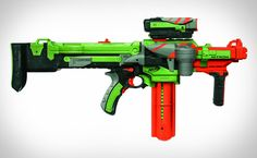 Why didn't we have all these crazy Nerf toys back in the day? I want to be 8…