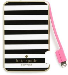 Kate Spade New York Kate Spade New York Slim Portable  Charger-Cute stocking stuffer idea!