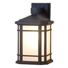 One Light Outdoor Wall Sconce by DVI Lighting from the Cardiff collection in Black finish in Transitional style. Led Exterior Lighting, Outdoor Barn Lighting, Outdoor Ceiling Fans, Outdoor Wall Lantern, Outdoor Wall Sconce, Outdoor Walls, Wall Sconce Lighting, Garage, Transitional Wall Sconces