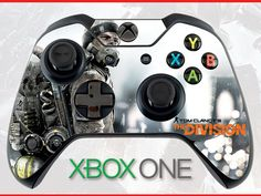 Tom Clancy's the Division Skin Xbox One Controller Skin Sticker Xbox Skin Tom Clancy Skin The Division Skin Tom Clancy's Wrap